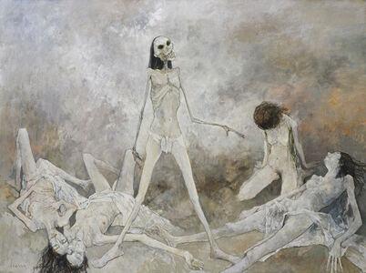 Jean Jansem, 'Le triomphe de la mort', 2001