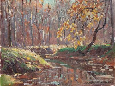 William Lester Stevens, 'Autumn Landscape', 1920-1940