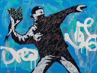 Dillon Boy, 'DBoy vs Banksy', 2017