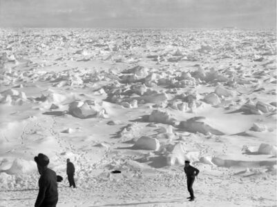 Frank Hurley, '14th January, 74 degrees 10 South- 27 degrees 10 west', 1914-1917