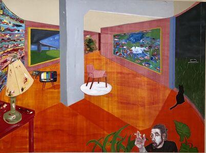 Samuel Iztueta, 'Red Studio II', 2018