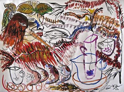 Zaida del Río, 'Mujer en la jungla', 1998