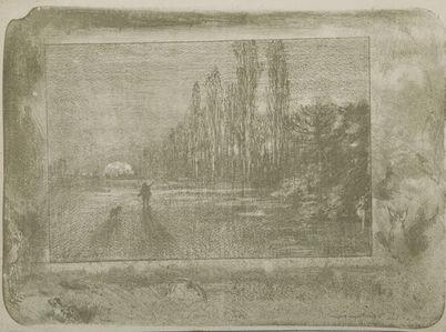 Félix Hilaire Buhot, 'Le Petit Chasseur', 1895