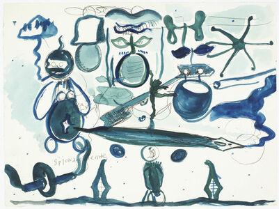 René Daniëls, 'Untitled (spionagedienste)', 1984