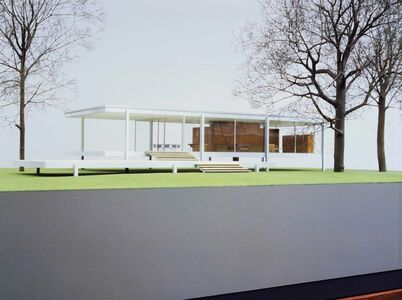 Ludwig Mies van der Rohe, 'Farnsworth House, Plano, Illinois', 1945-1951