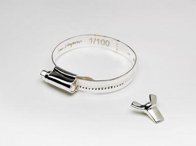 Dinos Chapman, 'Jubilee Clip Bracelet & Chain', 2010