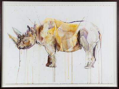 Dave White, 'Black Rhino', 2018