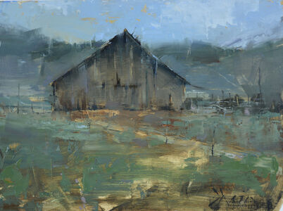 Jacob Dhein, 'Rustic Barn in Reno', 2019
