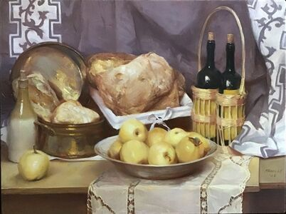 Paul Rahilly, 'Bread with Apples', 2006
