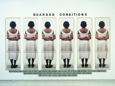 Lorna Simpson, 'Guarded Conditions', 1989