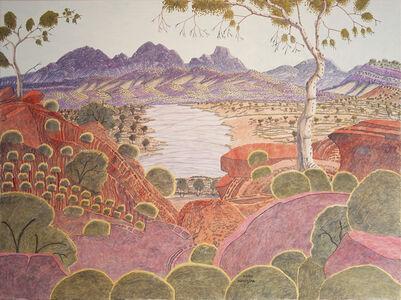 Kevin Namatjira, 'Mount Sonder from Glen Helen', 2018