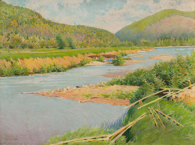 Frank Vincent DuMond, 'Margaree River, Cape Breton Island, Nova Scotia'