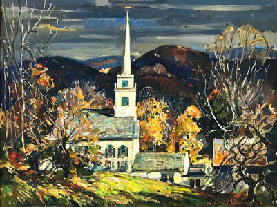 William Lester Stevens, 'TOP OF THE HILL', UNKNOWN