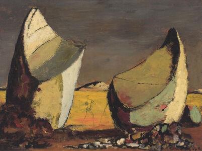 Sir Russell Drysdale, 'Desert Landscape', ca. 1953