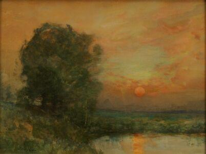 Charles Harry  Eaton, 'Harry Eaton, Pond at Sunset.JPG', 1897