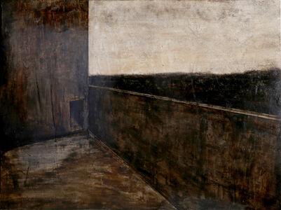 Joan Nelson, 'Untitled - Building Backyard', 1984