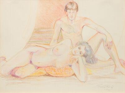 Sylvia Sleigh, 'Untitled (Nudes)', 1980