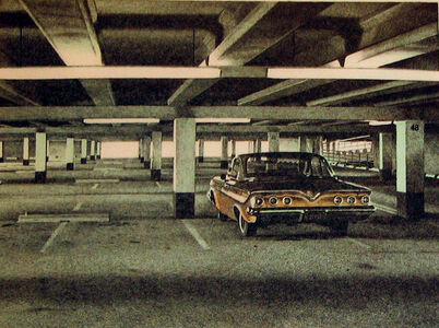 Robert Bechtle, ''61 Impala, from Four Chevies', 1973