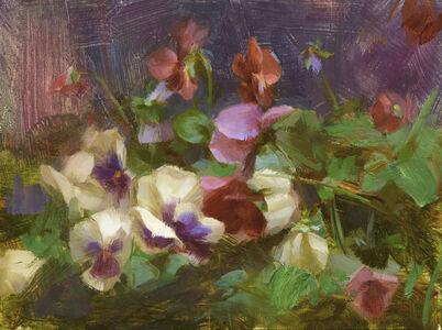 Susan Lyon, 'Pansies', ca. 2020