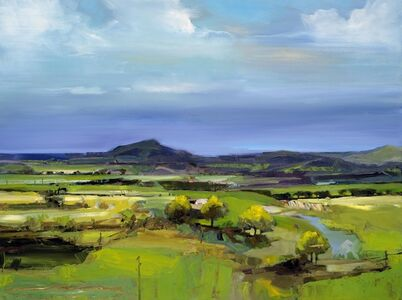 Simon Andrew, 'Hills and Agricultural Land', 2017