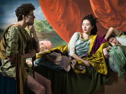 Adad Hannah, 'The Decameron Retold (after Cymon and Iphigenia, Benjamin West)', 2019
