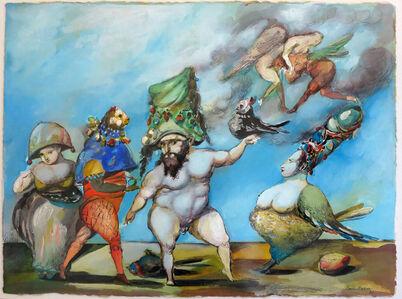 """Emil Kazaz, '""""Vale of Bird"""" / """"Kuşlar Vadisi""""', 1996"""