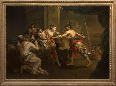 Johann Joseph Zoffany, 'Ulysses Seizing Astyanax from Andromache', c. 1758-1759