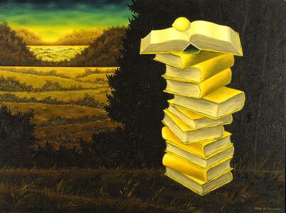 Meir Pichhadze, 'Books and lemon', ca. 1990