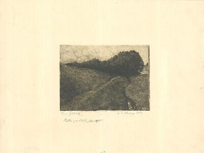 Martin Erich Philipp, 'Der Feldweg', 1909