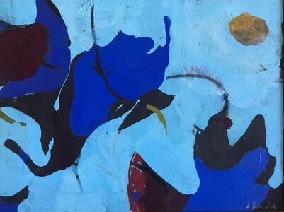 James Brooks (1906-1992), 'Fandron', 1972
