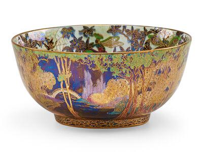 Wedgwood, 'Wedgwood Fairyland Lustre Circular Bowl', ca. 1920