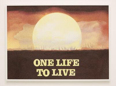 Cynthia Talmadge, 'One Life to Live', 2018