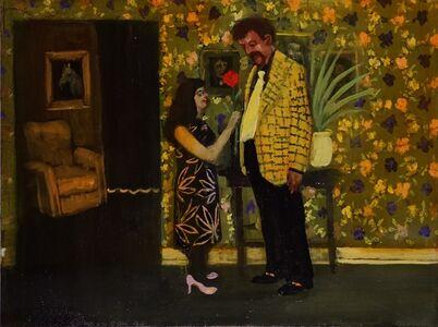 Michael Harrington, 'Couple Smelling a Rose', 2020