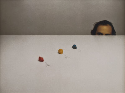 Serge Spitzer, 'Seeing Red, Seeing Yellow, Seeing Blue.', 1976