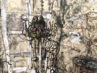 ANURADHA DELACOUR, 'portail de fin', 2018