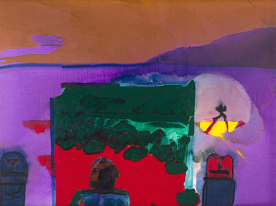 Robert Hodgins, 'Landscape with Figures', 1997