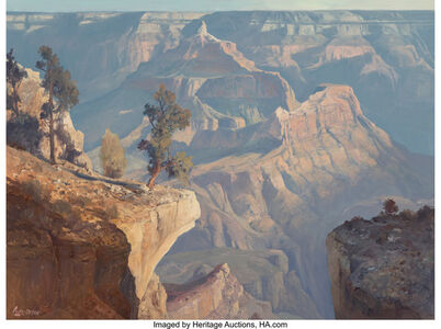 Ralph Love, 'Canyon Morning from Yavapai Point', 1984