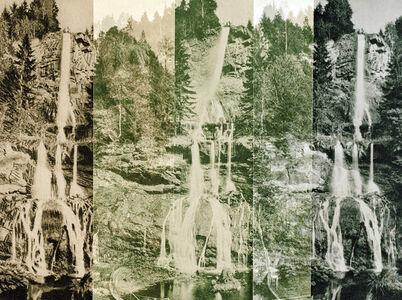 Claudia Angelmaier, 'Romker Waterfall I', 2016
