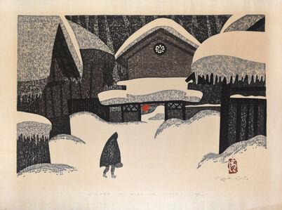 Kiyoshi Saito, 'Winter in Aizu (12)', 1969