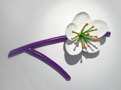 Thomas Stimm, 'Große Blüte, (Blüte mit Zweig)', 2015
