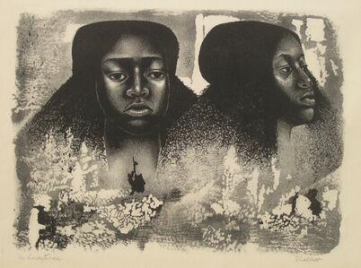 Elizabeth Catlett, 'Lovey Twice', 1976