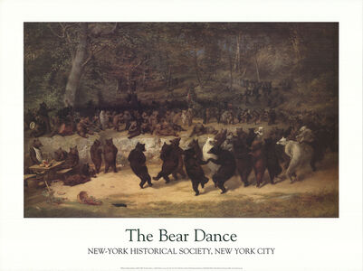 William Holbrook Beard, 'The Bear Dance', 2001