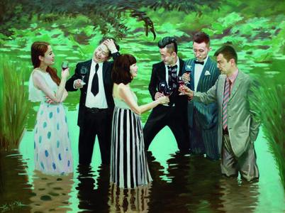 Zhao Bandi, 'China Lake C', 2015