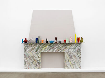 Laurent Dupont and Lucy McKenzie, 'Fireplace & 19 Prague Objects', 2015