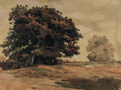 Jean Peske, 'L'Arbre de Pré-Long', executed in 1927