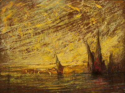 William Gedney Bunce, 'Venezia', ca. 1900