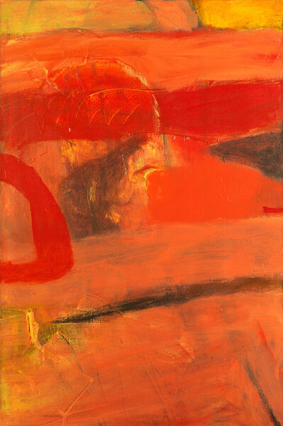 Albert Irvin RA, 'Echoing Red', ca. 1965