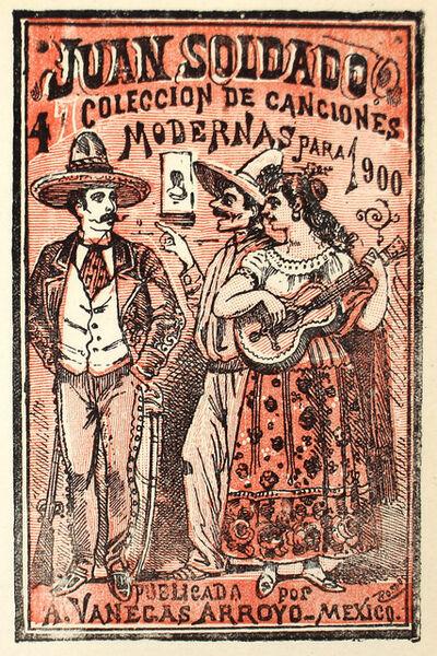 José Guadalupe Posada, 'Juan Soldado. Coleccion de canciones modernas, No. 47', 1900