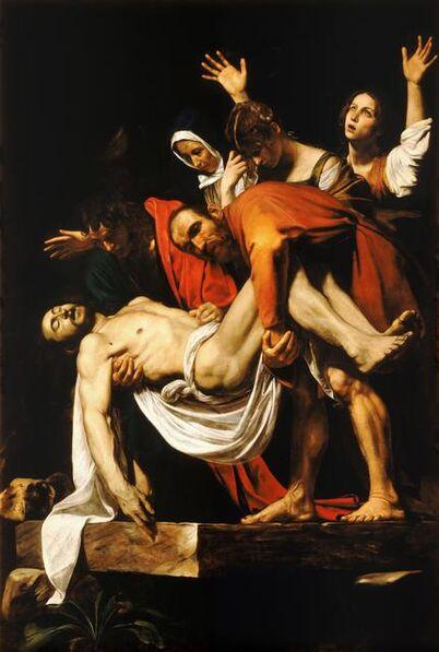 Michelangelo Merisi da Caravaggio, 'Entombment', 1603-04