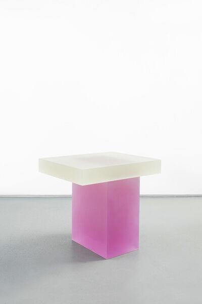 Wonmin Park, 'Haze Stool (Yellow and Pink)', 2015